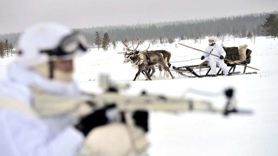 Arctic,Russia,military build-up