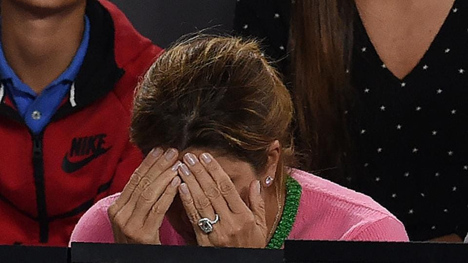 Mirka accompanies her husband in almost all major events. She has kept a tab on everything that the sport demanded from her husband; be it scheduling, taking down notes as he gave interviews, sponsorships, etc. (AFP/Getty Images)