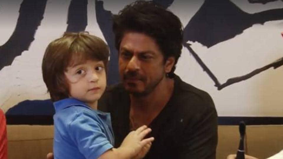 Shah Rukh Khan,AbRam,AbRam video