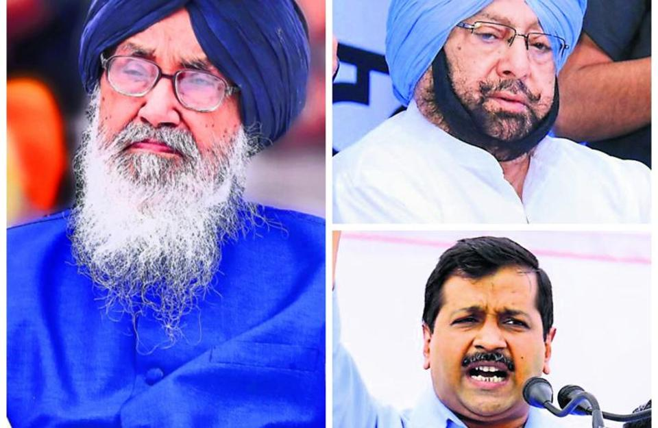 Two fake intelligence bureau reports designed to look like top secret e mails sent by senior IB officers to their headquarters are doing the rounds on Facebook and WhatsApp. One of the reports shows the Congress winning 90 seats out of the 117 seats. While the AAP's score is 16, 11 seats go to SAD-BJP combine.