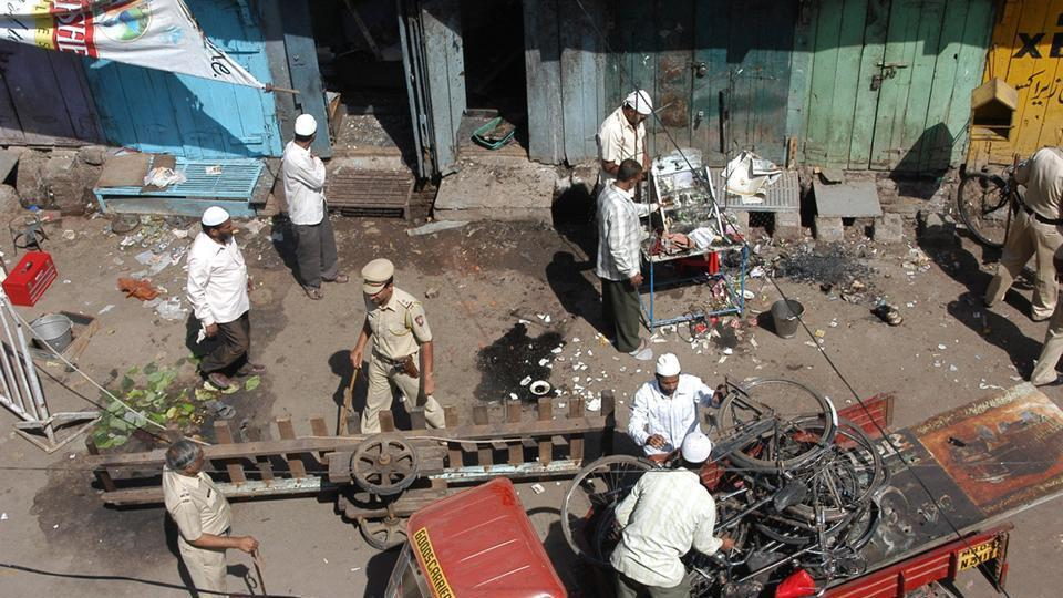 Six persons died and 100 were injured in the bomb blast at Malegaon on September 29, 2008.