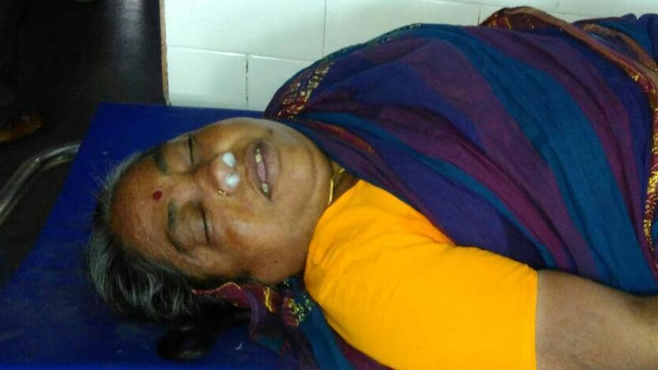 Lakshmamma allegedly died while waiting for the CM's convoy to pass, in Telangana.