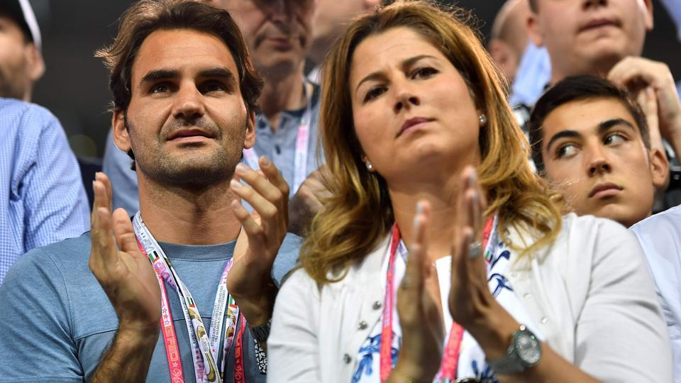 Swiss tennis champion Roger Federer (left) and his wife Mirka have defined the word 'relationship' in the life of a professional sportsperson