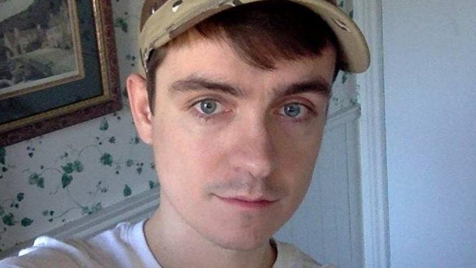 Alexandre Bissonnette, the suspect in a shooting at a Quebec City mosque, is seen in a Facebook posting.