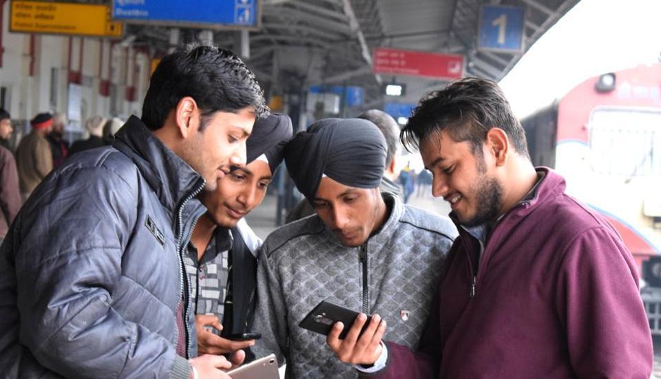 Railway Station,Wi-Fi,speed