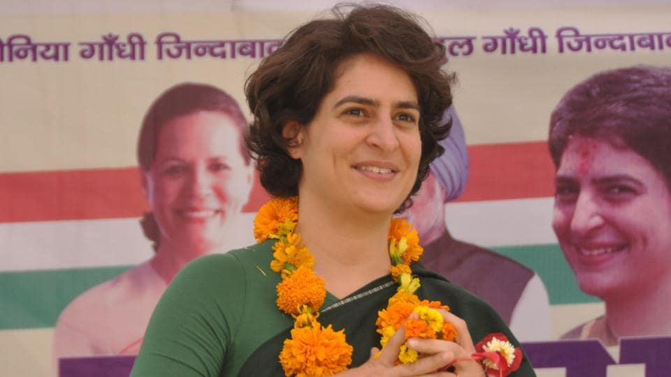 Priyanka Gandhi's name figures among the 40 star campaigners her party has finalised for Uttar Pradesh.