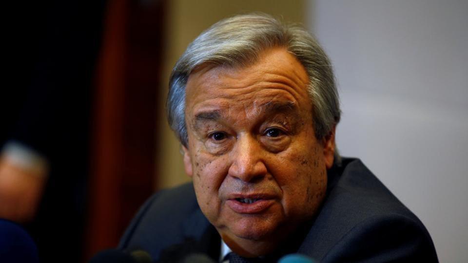 US immigration ban,UN chief,Antonio Guterres