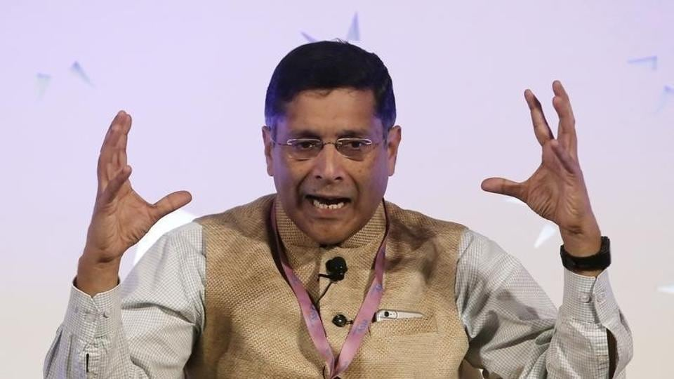 Arvind Subramanian, chief economic adviser at India's Finance Ministry. The latest one volume Economic Survey for 2016-17 – with a more detailed second part slated for July 2017 —  the third one for the CEA, Arvind Subramanian, has triggered interest on what he has to say on India's growth post-demonetisation.