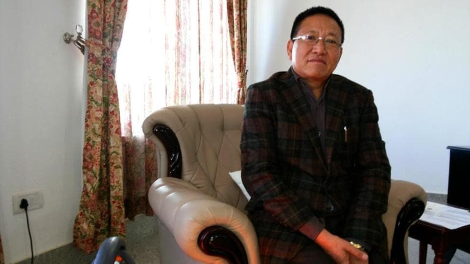 An agreement between the Nagaland government and a group of tribal organisations opposing to reservation for women was signed in the presence of Nagaland chief minister TR Zeliang (in pic).