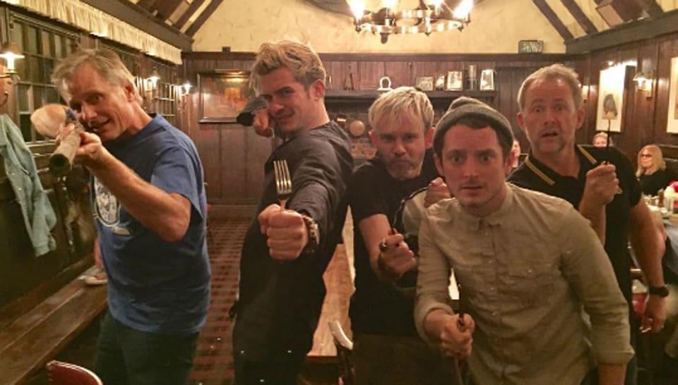 Lord of the Rings,Viggo Mortensen,Dominic Monaghan