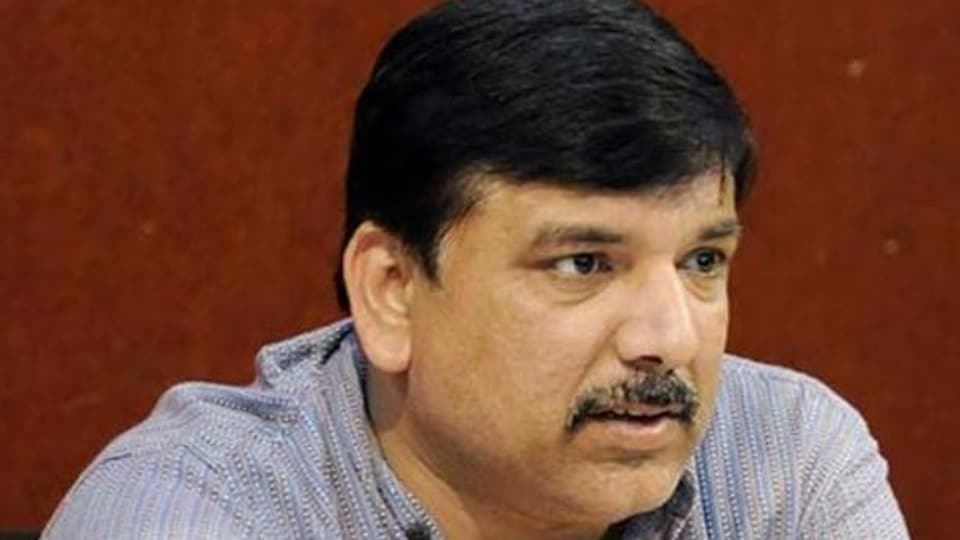 In-charge of Aam Aadmi Party (AAP) affairs in Punjab Sanjay Singh