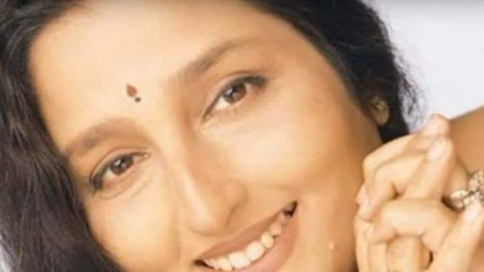 Anuradha Paudwal began her career in 1973 when she sang a shloka in Abhimaan.