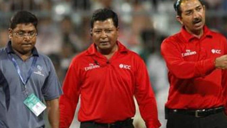 Umpire CShamshuddin, who was involved in several controversial decisions in the Nagpur T20I, has been sidelined for the deciding game in Bengaluru.