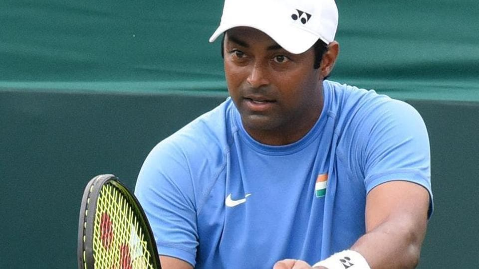 Leander Paes has played a total of 54  Davis Cup ties - most by any Indian.