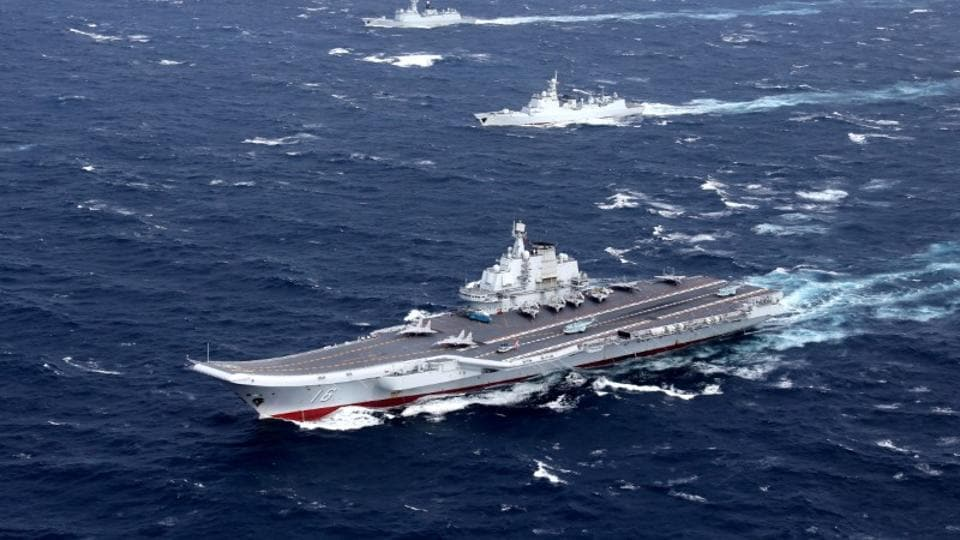 South China Sea,port of Dalian,Chinese navy