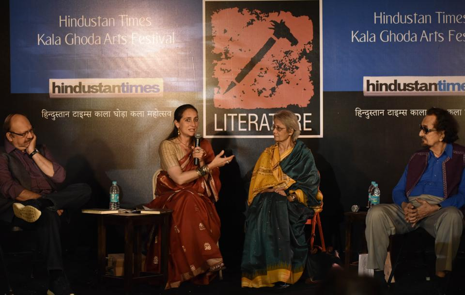 Film and theatre personalities discuss theatre during the previous edition of Kala Ghoda festival.