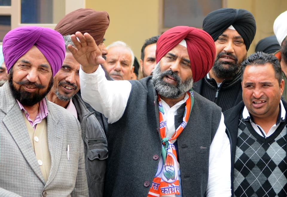 Former Indian hockey team skipper Pargat Singh is defending his seat from Jalandhar Cantonment seat. Earlier he won as a SAD candidate and this time he is contesting on Congress ticket. (Anil Dayal/HT)