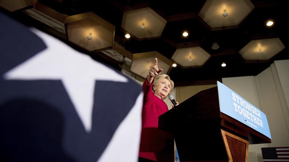 US presidential election,Hillary Clinton,Donald Trump