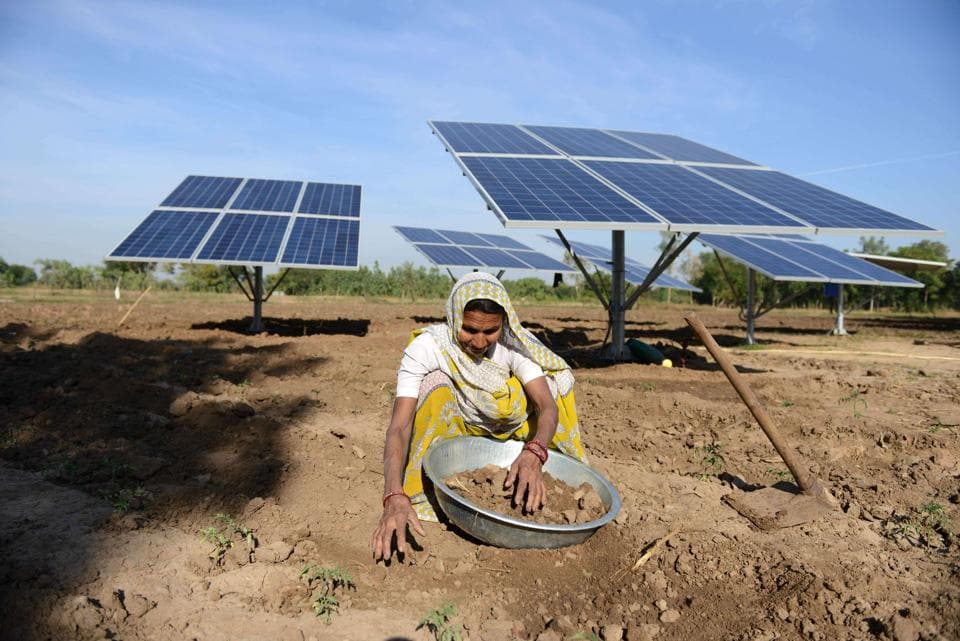 The state government has installed 28,493 solar power pumps in Rajasthan in the last seven years