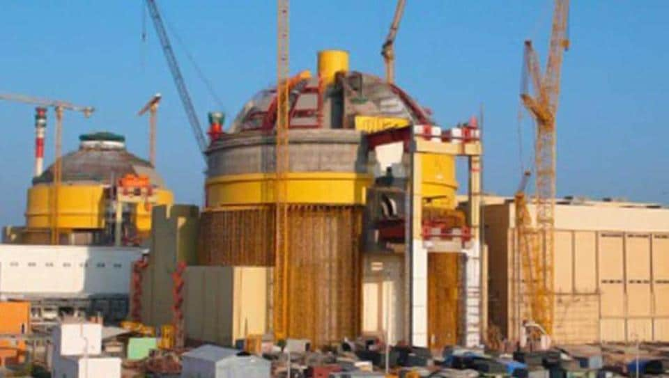 A file photo of the Kudankulam nuclear plant in Tamil Nadu.