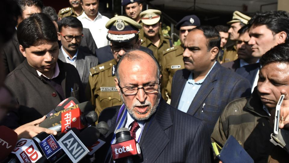 L-G Anil Baijal held a review meeting over parking issues which was attended by top officers dealing with the transport and traffic infrastructure in the city.