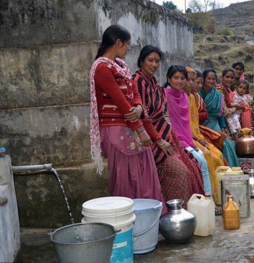 Women of Uttarakhand's Pauri Garwal district. (photo for representation).