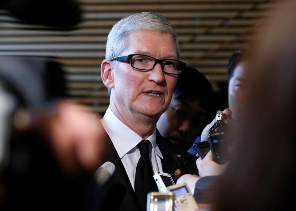 Tim Cook,Apple CEO,Donald Trump