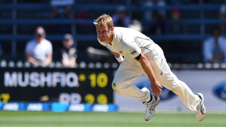 New Zealand left-arm pacer Neil Wagner is ruled out for at least a month due to his injury.