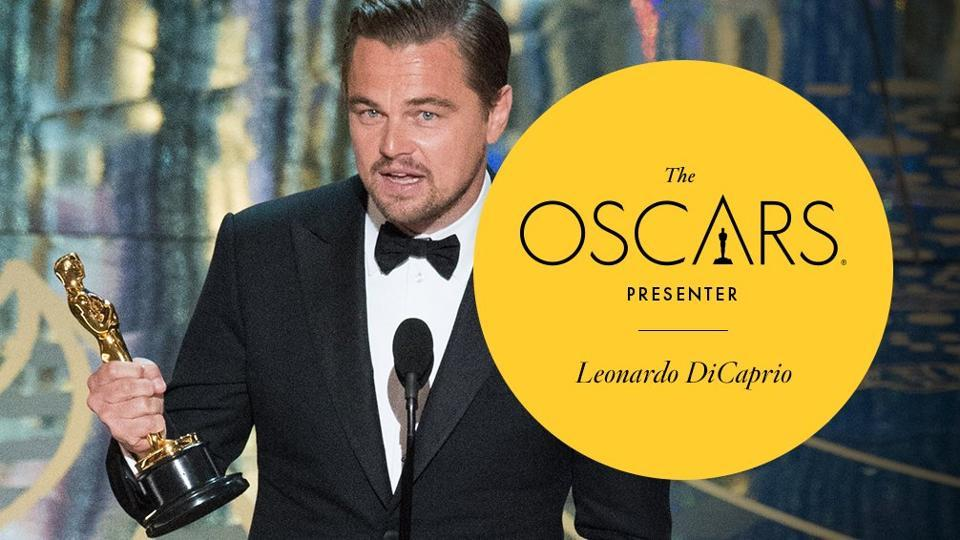 DiCaprio won the best actor Oscar in 2016 for his role in The Revenant after four previous nominations in the category.