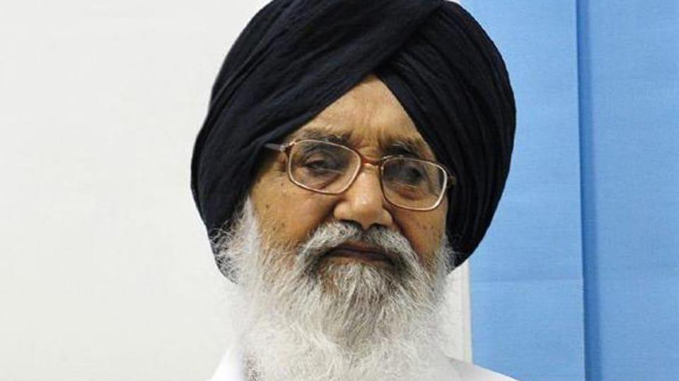 Parkash Singh Badal,Punjab polls,Campaigning