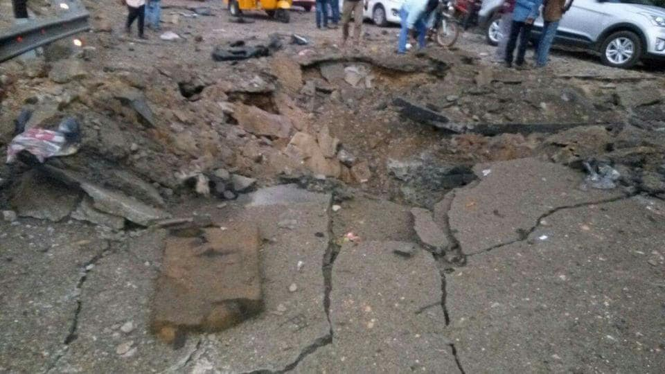 Maoist landmine blast