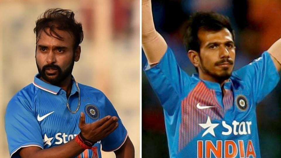 Yuvzendra Chahal (right) and Amit Mishra, who were brought into the India cricket team as replacement for regulars, Ravichandran Ashwin and Ravindra Jadeja, proved their worth with the match-winning heroics against England cricket team in the third T20Iin Bengaluru on Wednesday.