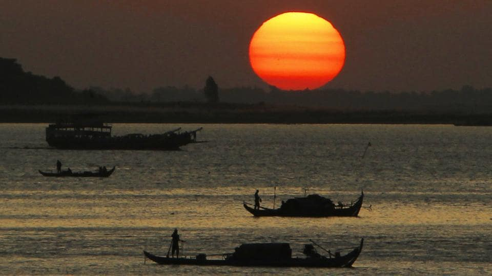 Two Pakistani fishing boats were seized by the BSF off the coast of Gujarat in Sir Creek area on Feb 1.