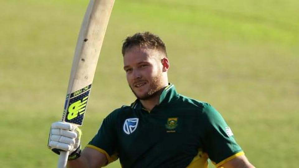 David Miller has been ruled out of the remainder of the five-match ODI series against Sri Lanka after sustaining a finger injury in the Durban ODI.