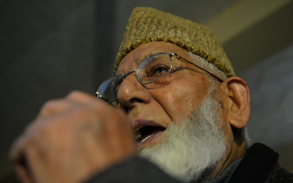 Syed Ali Shah Geelani, the 88-year-old chief of the hardliner Hurriyat faction, was admitted to the intensive care unit of SKIMS Hospital in Srinagar, after he complained of chest pain.