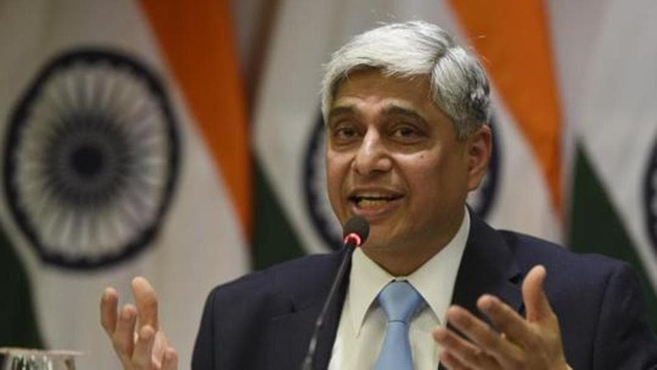 MEA spokesperson Vikas Swarup said the US has categorically denied  the visa denial had any linkage to the travel ban ordered by Donald Trump.