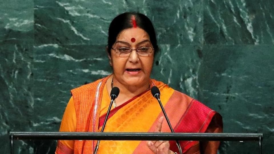 The external affairs minister has in the past been appreciated for her timely interventions and quick responses on social media.
