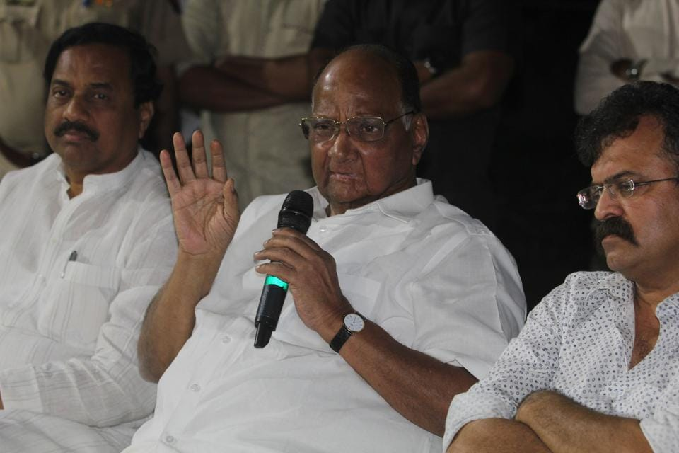 Speculations are rife in the political circle that NCP may support BJP