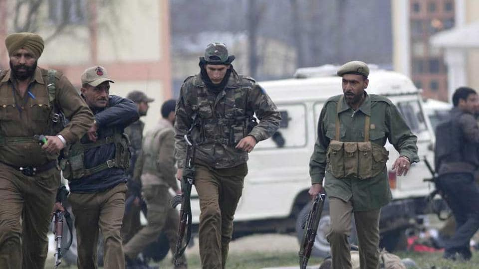 The explosive device was found on the Srinagar-Jammu National Highway in Pampore area of south Kashmir's Pulwama district.