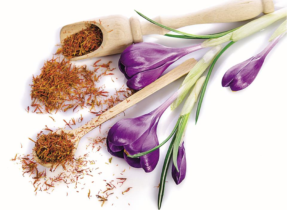 Saffron helps get rid of toxins