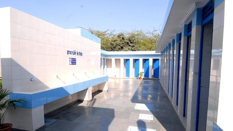 Differently abled,Toilets in Delhi,Community toilets in Delhi