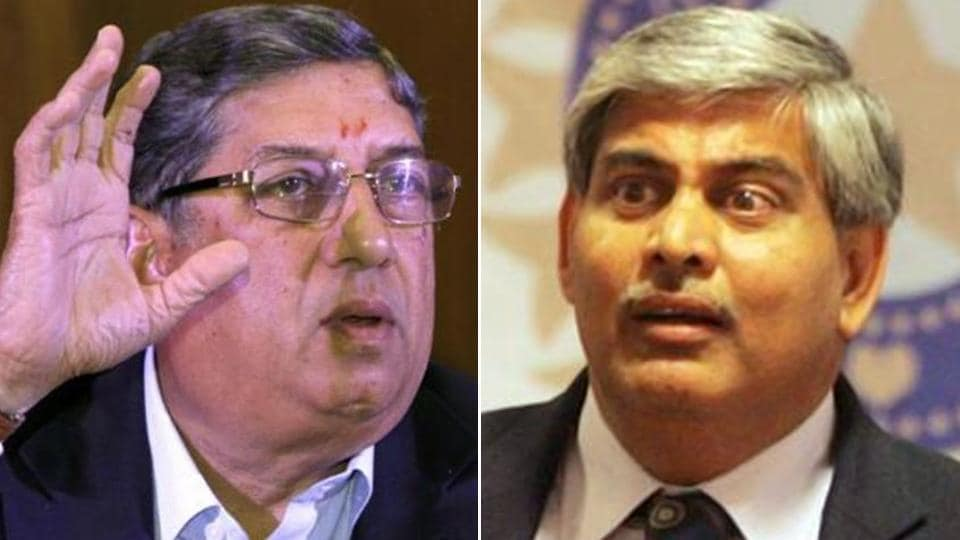 N Srinivasan-backed officials may hamper president Shashank Manohar's financial plans at the ICC.