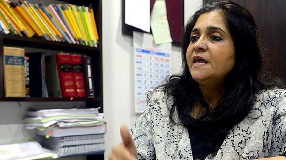 "Earlier, a committee set up the HRD ministry has found activist Teesta Setalvad culpable for ""hatred-filled, disharmony-spreading, ill-will generating, enmity-creating explosive writings""."