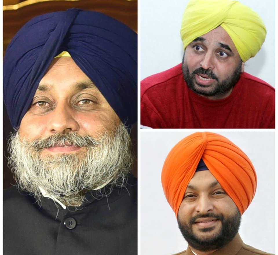 Punjab polls,Bhagwant Mann,Sukhbir Badal
