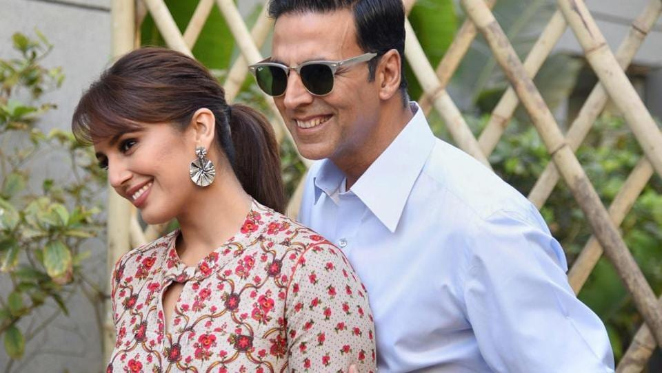 Akshay Kumar and Huma Qureshi were also in Ahmedabad to promote their upcoming film Jolly LLB 2. (PTI)