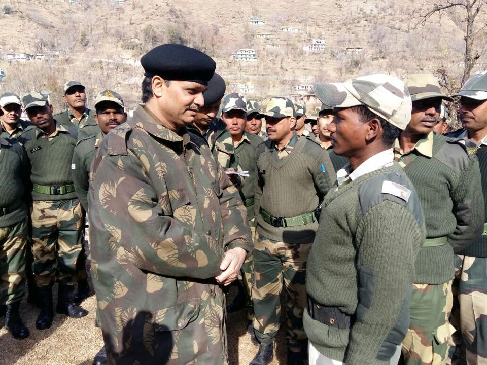 BSF officials said the sentry, who was posted on the Bangladesh border in Meghalaya, allegedly shot himself with his service weapon after going into depression.