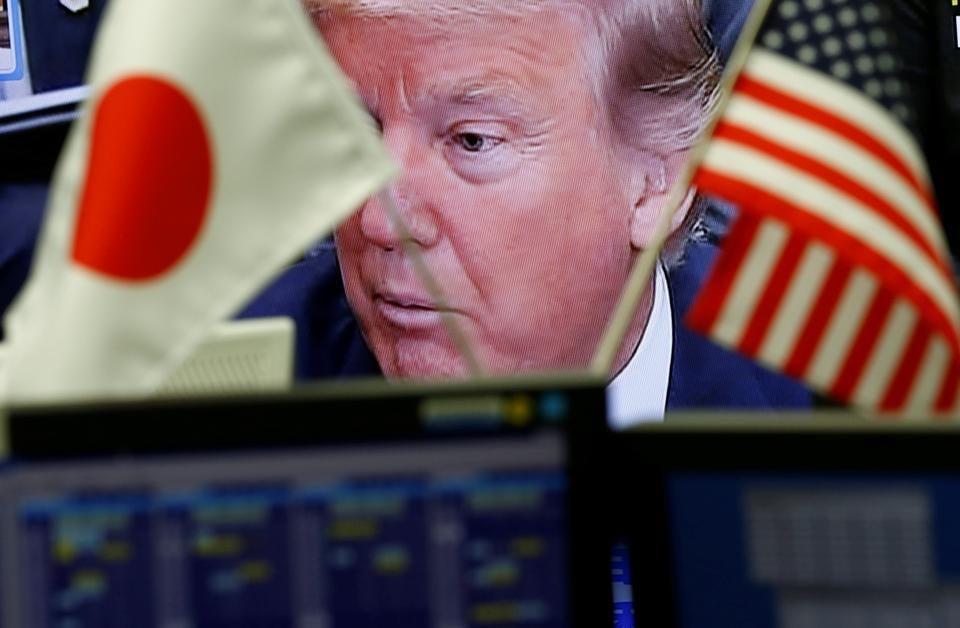 Donald Trump,Shinzo Abe,Japan-US ties
