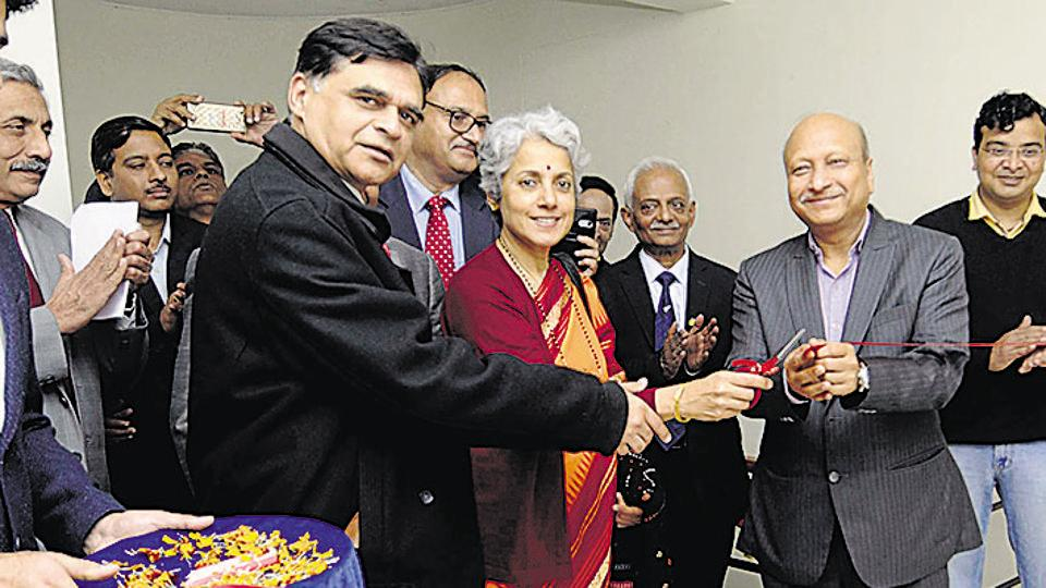 Dr Ajit Sharan, the secretary of the ministry of AYUSH and Dr Saumya Swaminathan, the secretary of the Department of Health Research at National Institute of Cancer Prevention Research (NICPR) inaugurated the facility on Friday.