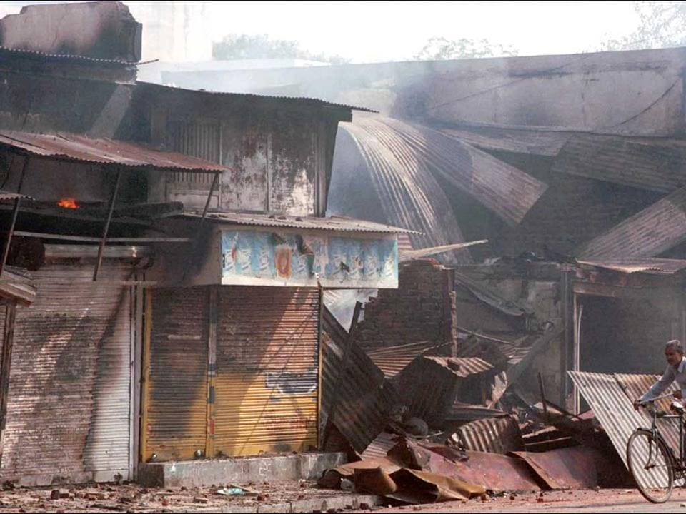 Riots had sparked in Gujarat after Sabarmati Express was torched at Godhra railway station in 2002.