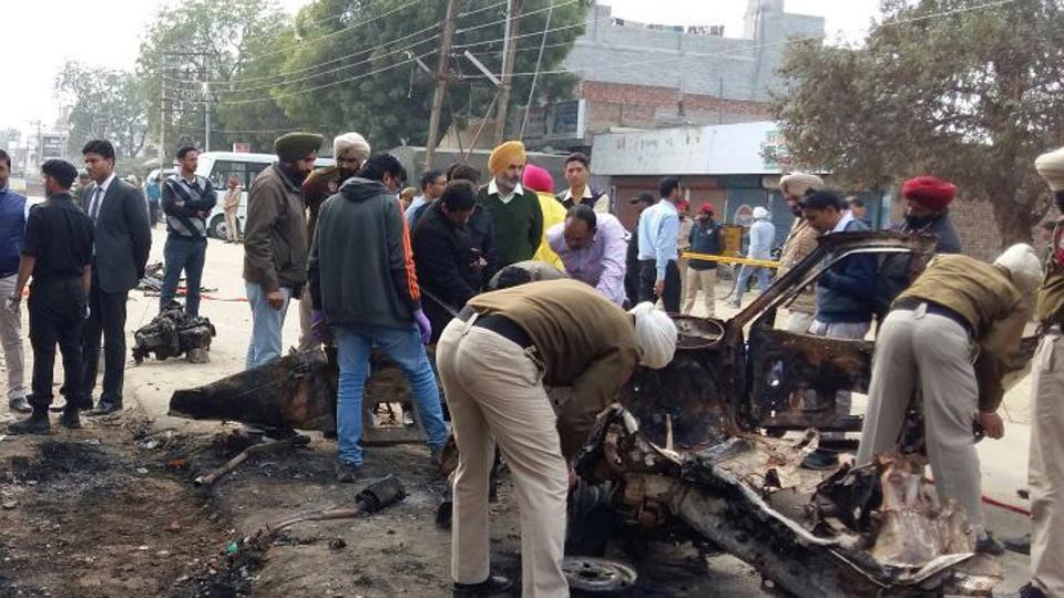 Maur blasts,National Security Guards,Bathinda